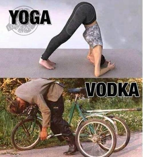 Yoga=Vodka
