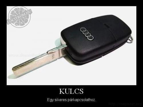 A kulcs...