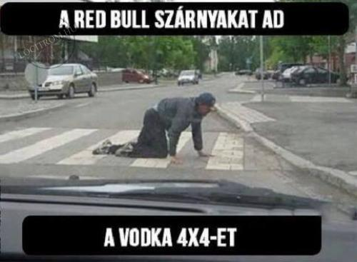 Red Bull vs vodka