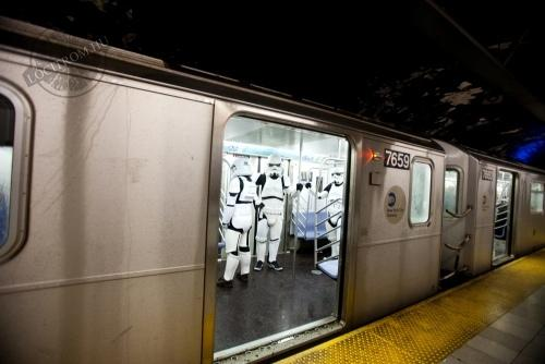 Star Wars a metrón