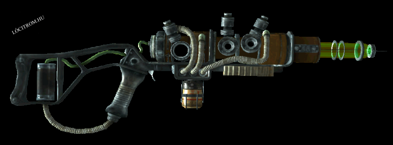 Fallout Tactics: Plasma rifle