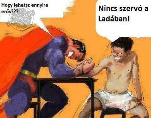 Lada vs Superman