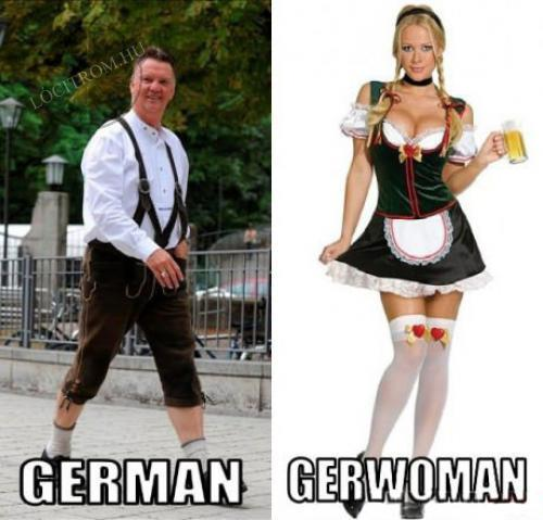 German �s gerwoman