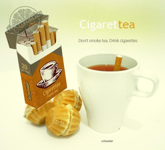 Faloda: Cigaretta tea
