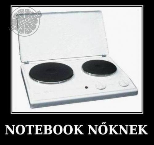 Notebook nőknek