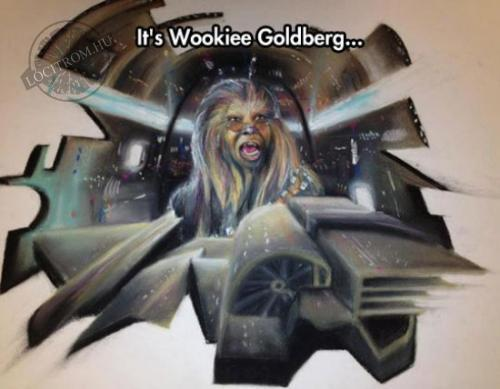Wookiee Goldberg