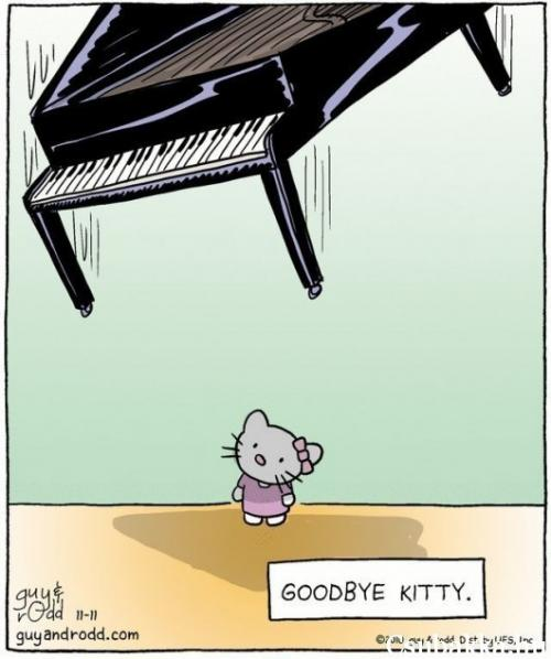 Hello Kitty -> Goodbye Kitty